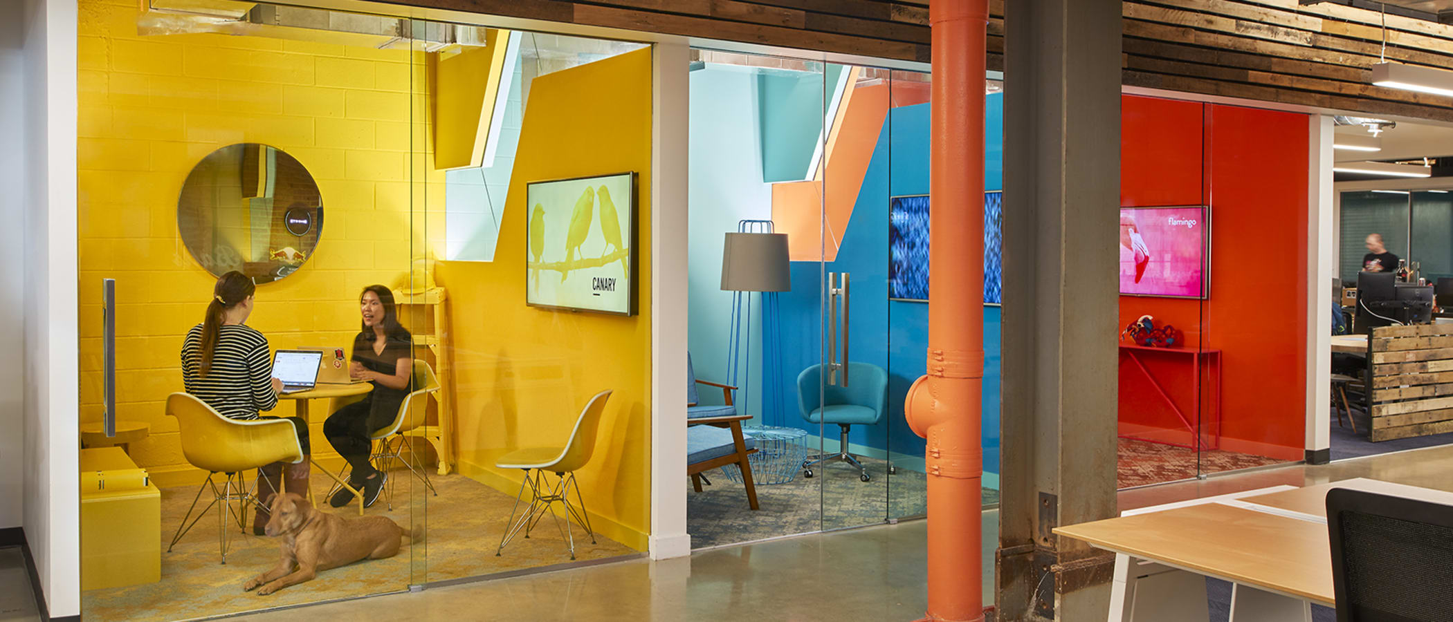 6 Coolest Workspaces that Aren't Apple, Amazon or Microsoft
