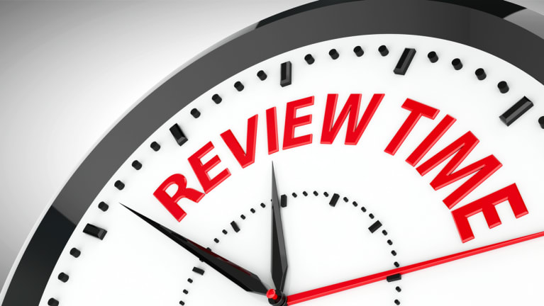 Annual Performance Review Bows Out