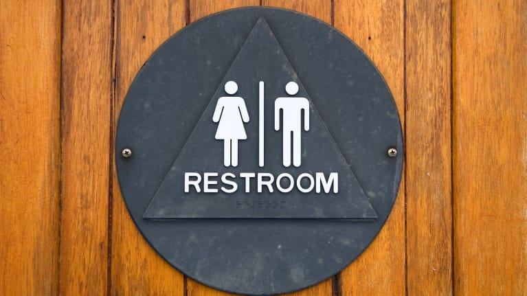 Bathroom Signs Circle And Triangle california's equal restroom access act: 5 facts employers need to know