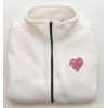 Women's Cream Heart Shape I Love HR Fleece