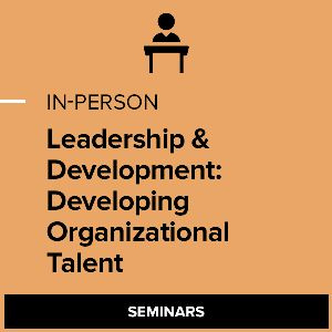 L&D: Developing Organizational Talent