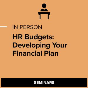 HR Budgets: Developing Your Financial Plan