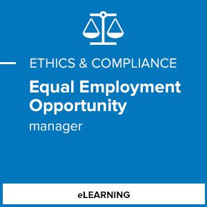 Equal Employment Opportunity (Manager)