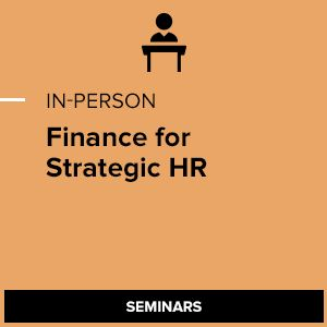 Finance for HR Professionals: Building Business Fluency