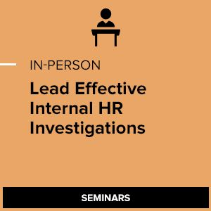 Leading Internal Investigations