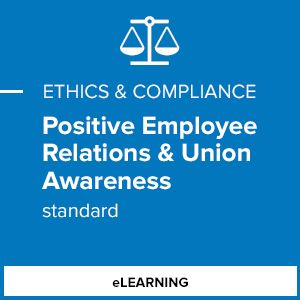Positive Employee Relations & Union Awareness (Standard)