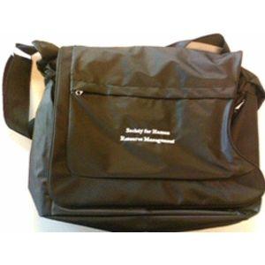Black Canvas Laptop Bag