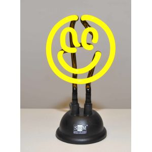 Neon Smiley Light with SHRM