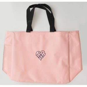 "Tote Bag with Heart-Shaped ""I Love HR"" Logo"