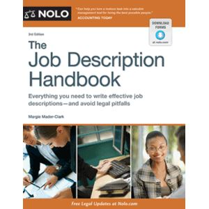 The Job Description Handbook, 3rd Edition