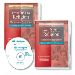 From Sex to Religion Training Program Employee Version