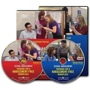 Sexual Harassment: Training for a Harassment-Free Workplace Combo DVD — Employee/Manager Package