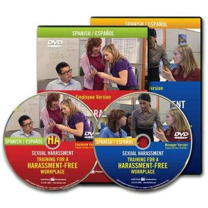 Sexual Harassment: Training for a Harassment-Free Workplace, Combo DVD — Employee/Manager Package (Spanish)