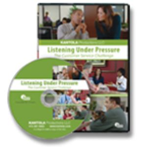Listening Under Pressure: The Customer Service Challenge DVD