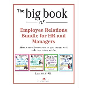 The Big Book of Employee Relations Bundle for HR and Managers