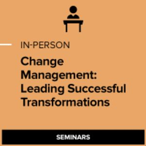 Change Management: Leading Successful Transformations