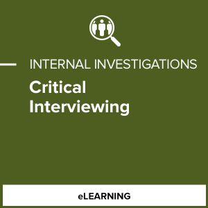 Critical Interviewing
