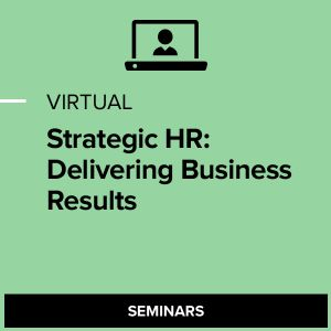 Virtual Strategic HR: Delivering Business Results