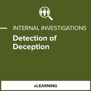 Detection of Deception