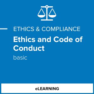 Ethics and Code of Conduct - Basic