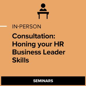 Consultation: Honing your HR Business Leader Skills