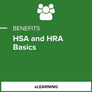HSA and HRA Basics