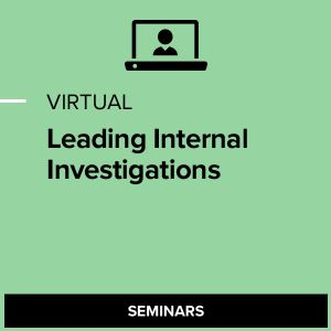 Virtual Leading Internal Investigations
