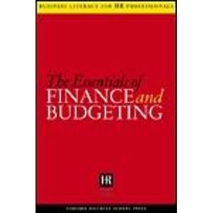 Essentials of Finance and Budgeting