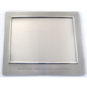 High Perceived Value Metal Certificate Holder