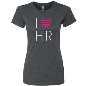 Women's I Love HR T-Shirt - New Logo and Look