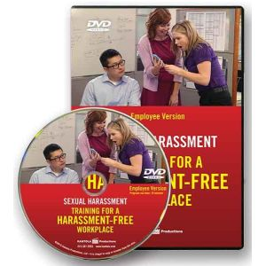 Sexual Harassment: Training for a Harassment-Free Workplace, DVD Series -- Employee Version