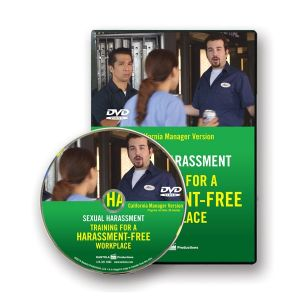 Sexual Harassment: Training for a Harassment-Free Workplace, DVD Series — California Manager Version