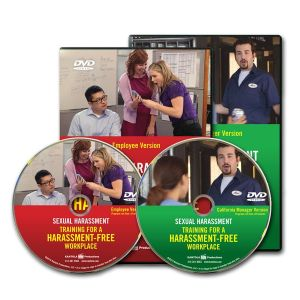 Sexual Harassment: Training for a Harassment-Free Workplace, Combo DVD — Employee/Manager California Package