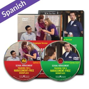 Sexual Harassment: Training for a Harassment-Free Workplace DVD Series — Employee/Manager California Package (Spanish)
