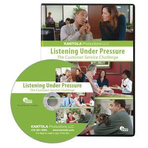 Listening Under Pressure: The Customer Service Challenge DVD