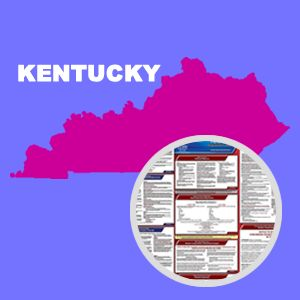 Kentucky and Federal Labor Law Poster Set with 1-Year Update Service -- Spanish Version