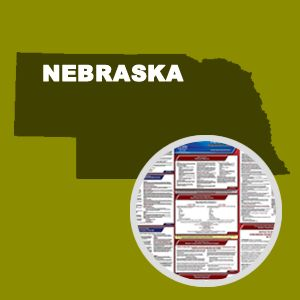 Nebraska and Federal Labor Law Poster Set with 1-Year Update Service -- Spanish Version
