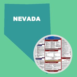 Nevada and Federal Labor Law Poster Set with 1-Year Update Service -- English Version