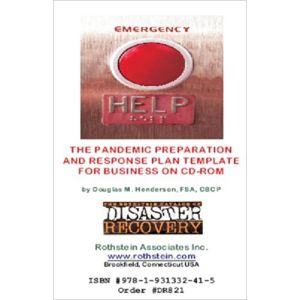 Pandemic Preparation and Response Plan Templates CD