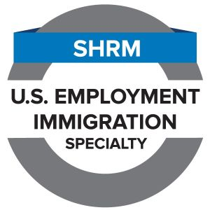 SHRM U.S. Employment Immigration Specialty Credential