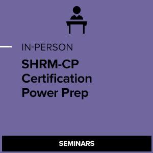 SHRM-CP Certification Power Preparation Program