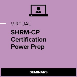 Virtual SHRM-CP Certification Power Preparation