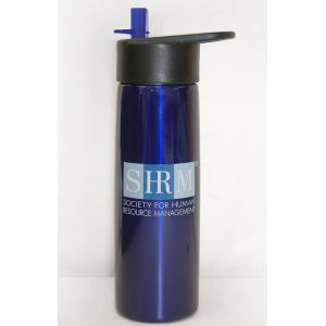 Stainless Steel Water Bottle with SHRM Logo