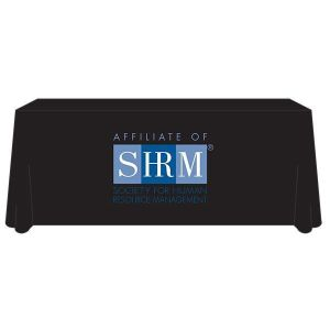 'Affiliate of SHRM' 6-ft Tablecloth