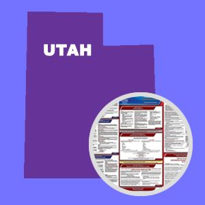 Utah and Federal Labor Law Poster Set with 1-Year Update Service -- Spanish Version
