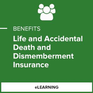 Life and Accidental Death and Dismemberment Insurance