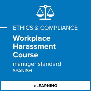 Workplace Harassment Course (Manager Standard - Spanish)