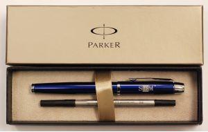 Parker Roller Ball Pen w/ SHRM Logo