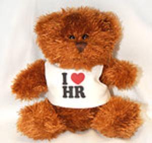I Love HR Plush Doll