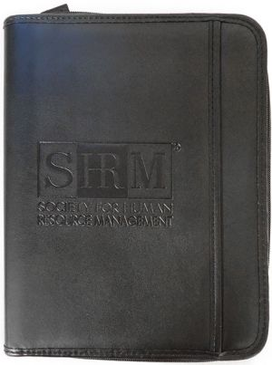 SHRM Zippered Padfolio Junior Size